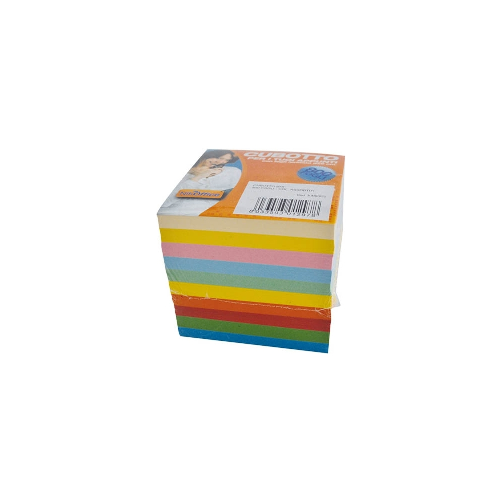Cubotto per appunti (800 fogli)
