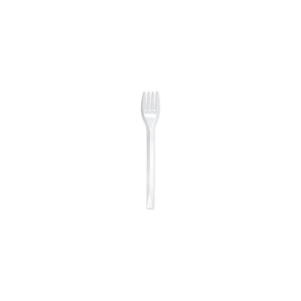 Forchette bianche weekend (100 pezzi)