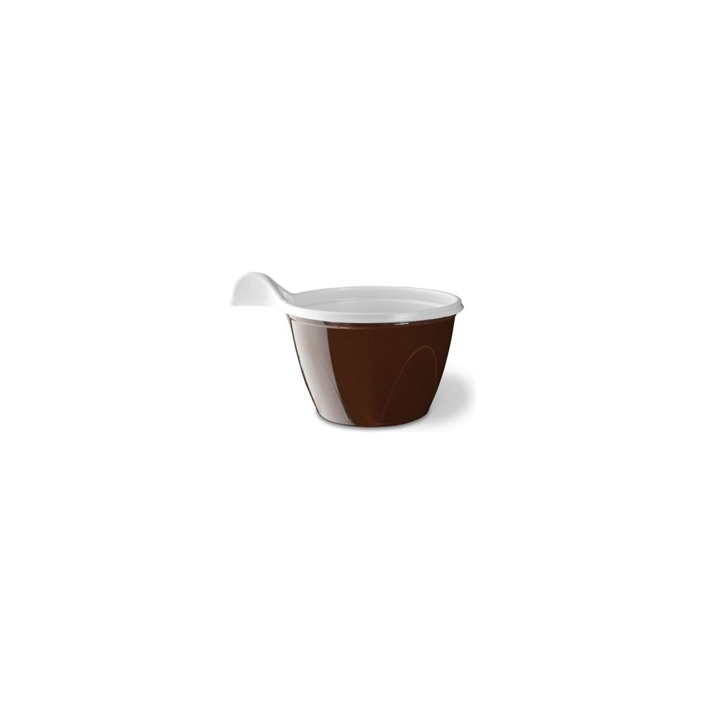 Tazze caffe' bicolore (48 pezzi)