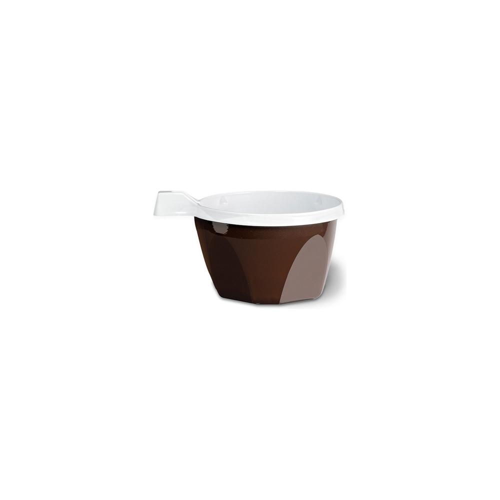 Tazze cappuccino bicolore (25 pezzi)