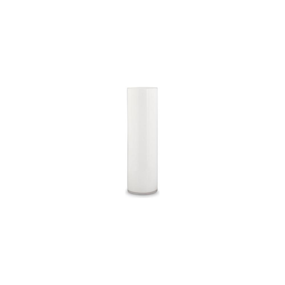 Vaso cilindrico in vetro