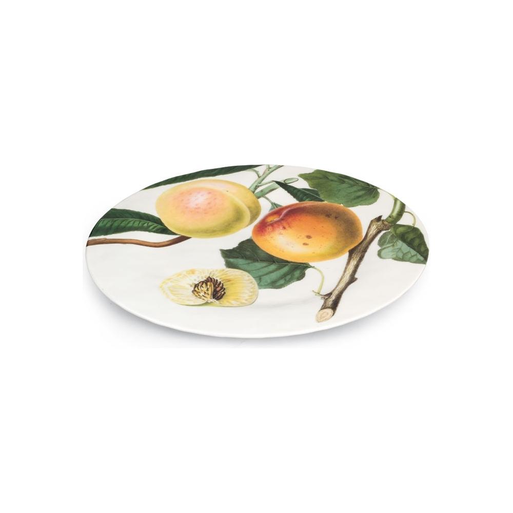 Maxi piatto in melamina con pesche