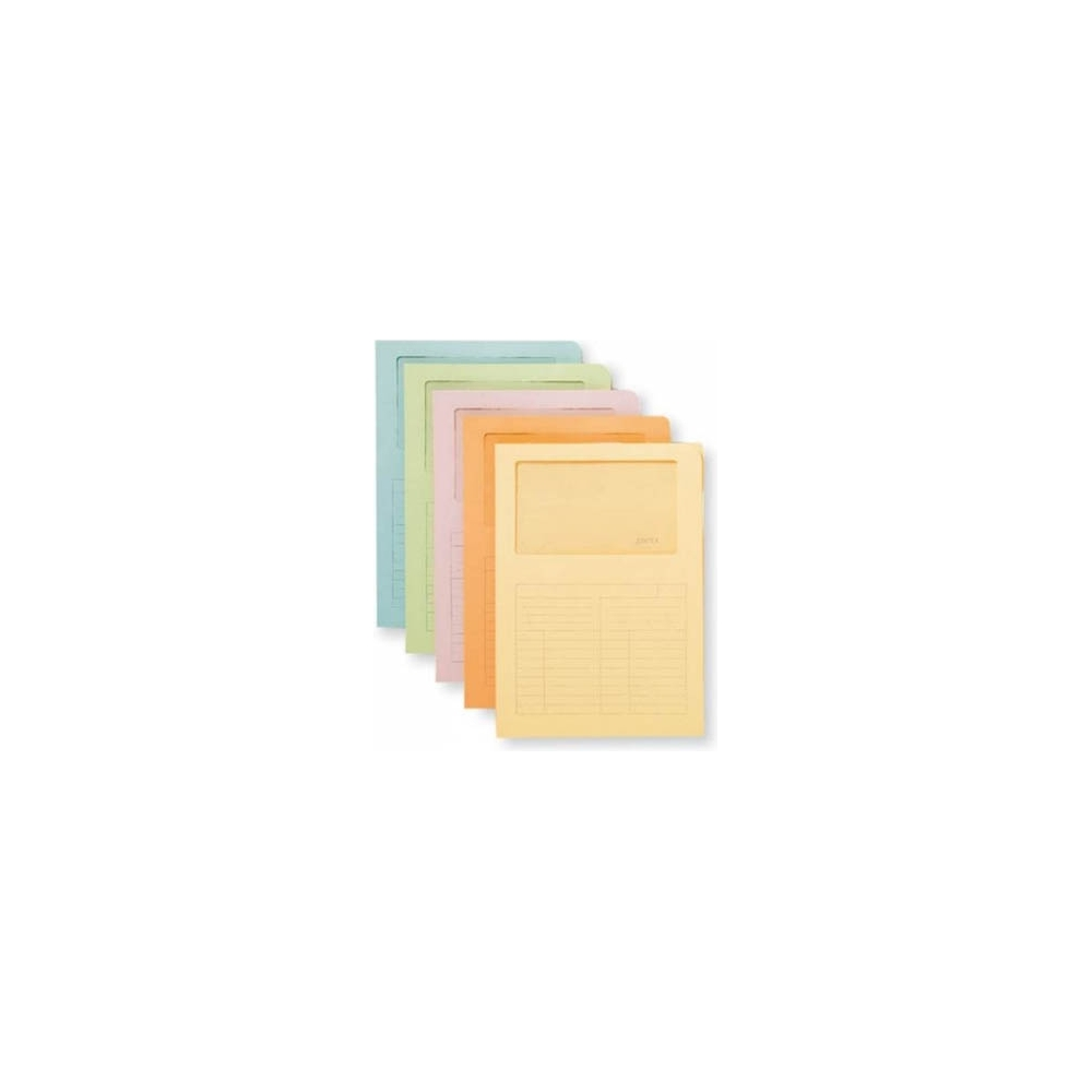 Cartellina con finestra sintex (20 pezzi)