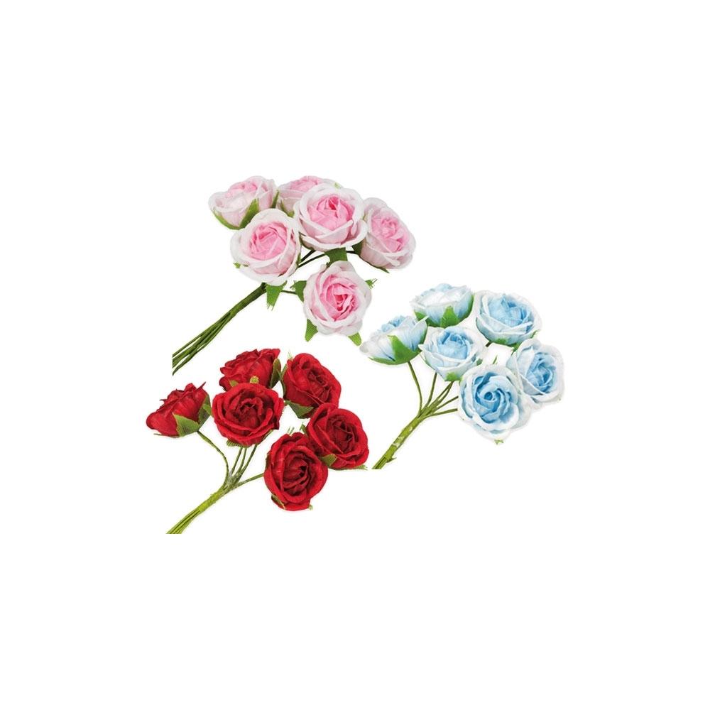 Rosellina piccola sfumata (36 pezzi