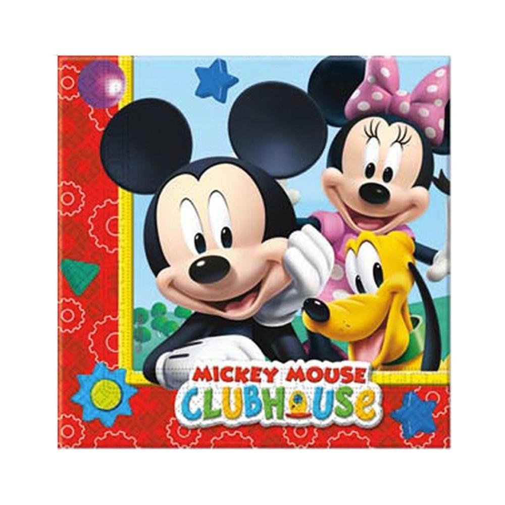 Tovaglioli mickey mouse (20 pezzi)