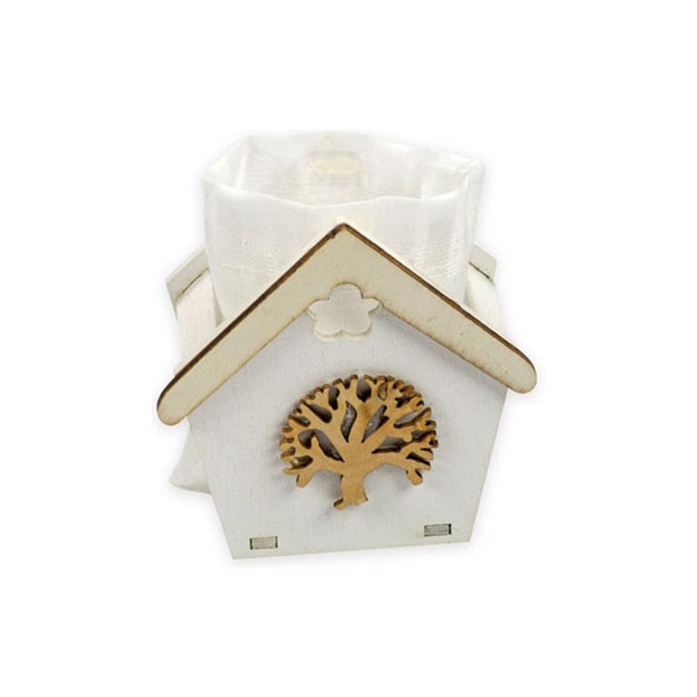 Casetta portaconfetti albero della vita (6 pezzi)