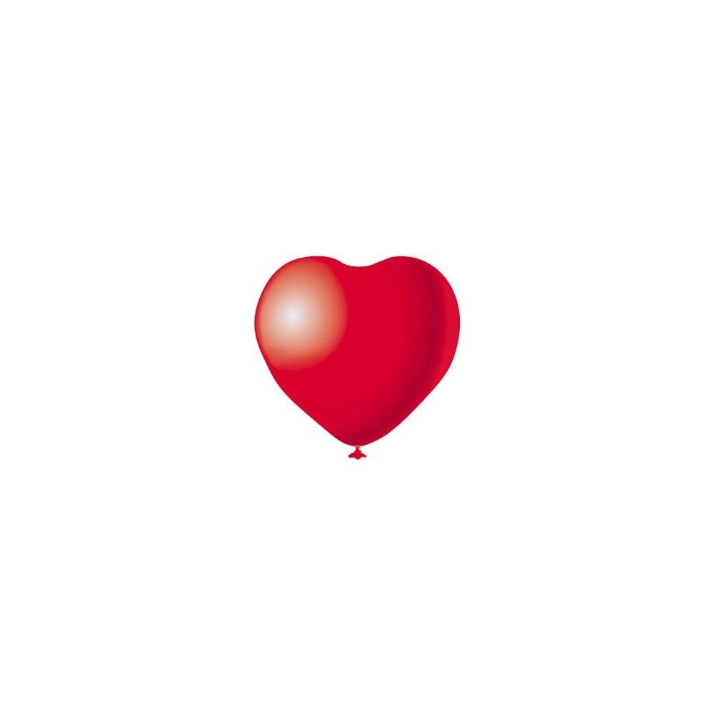 Palloncini cuore (12 pezzi)