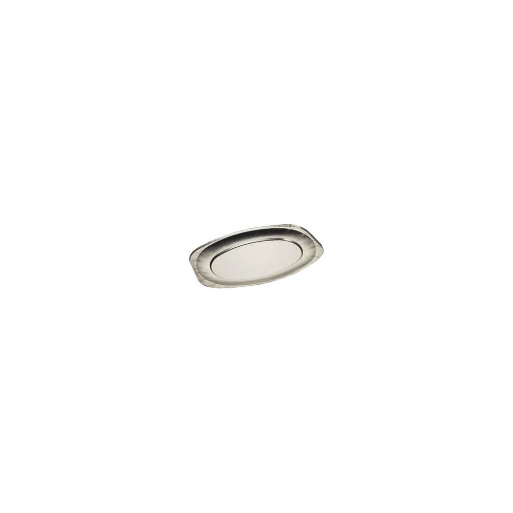 Vassoi in alluminio ovali (10 pezzi)