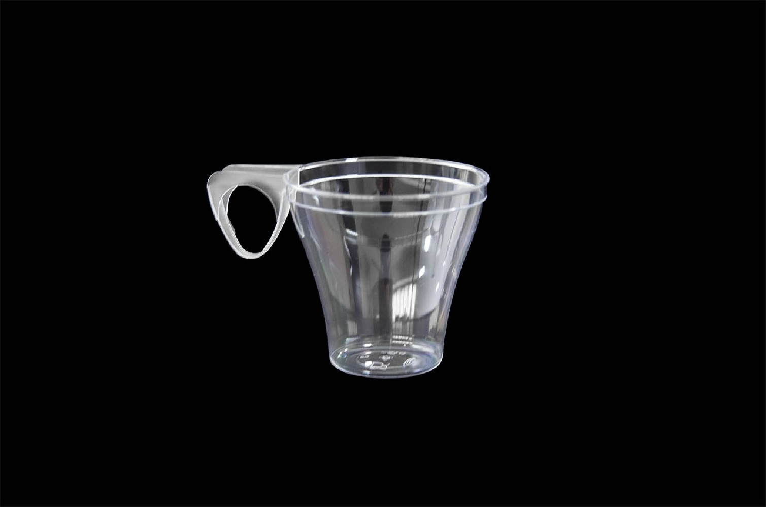 Tazzine in plastica per caffe' (40 pezzi)