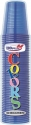 Bicchieri plastica colorati (50 pezzi)