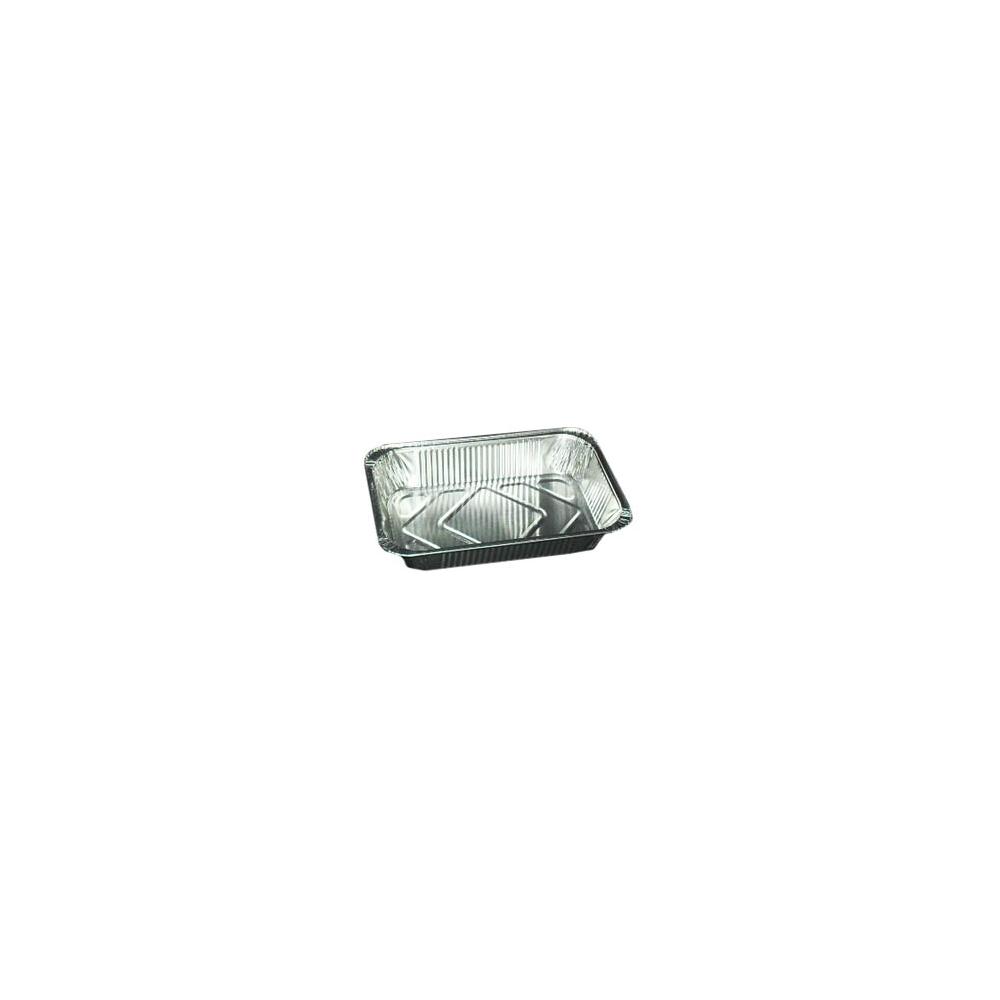 Vaschette in alluminio con coperchio (3 pezzi)