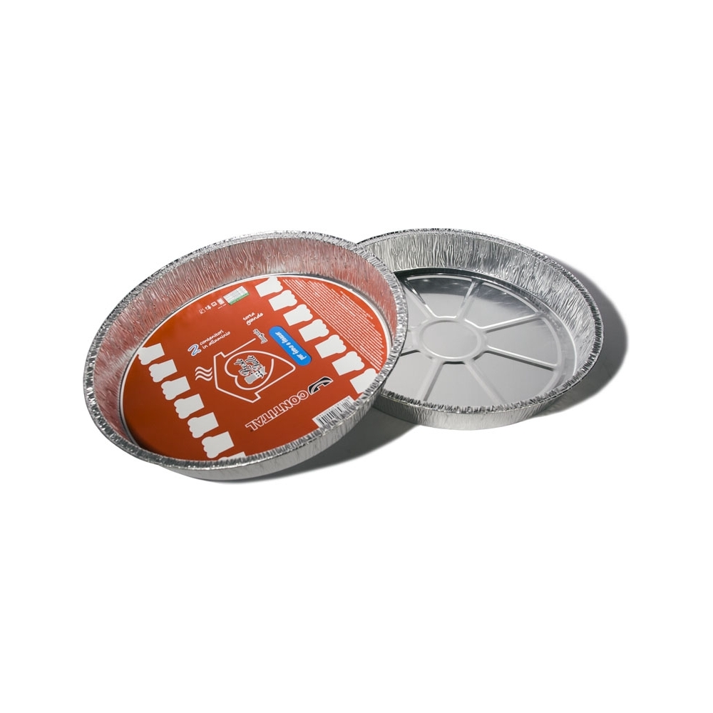 Tortiere in alluminio (2 pezzi)