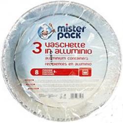 CONTENITORI IN ALLUMINIO PER TORTA (3 PEZZI)