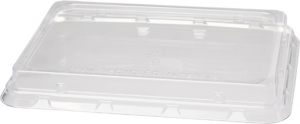 COPERCHI rettangolari IN materiale plastico RPET  per ciotole e vaschette delivery e take away ingrosso online b2b