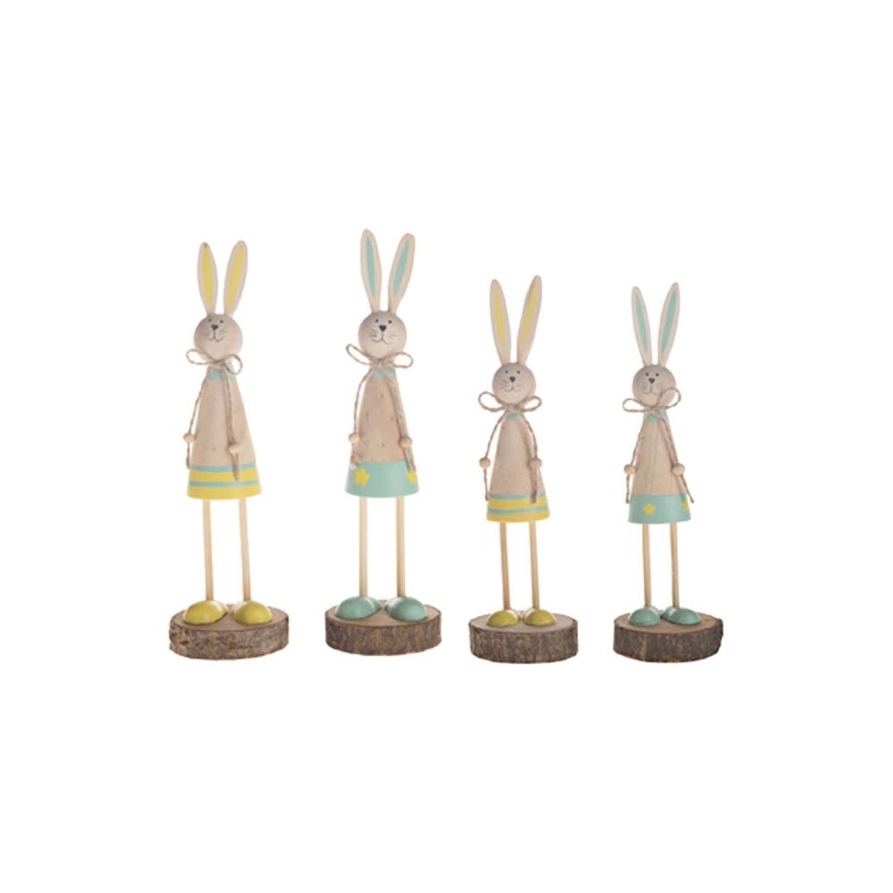 Coniglietti in legno