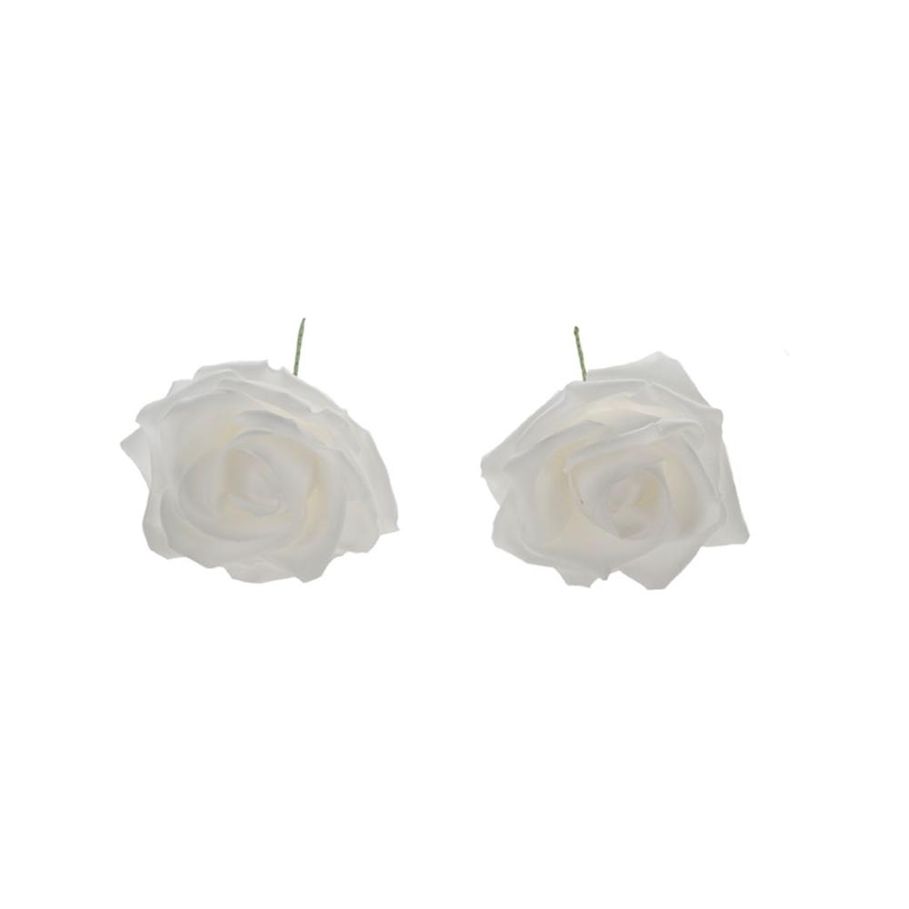 Rose di schiuma morbida ( 8 pezzi)