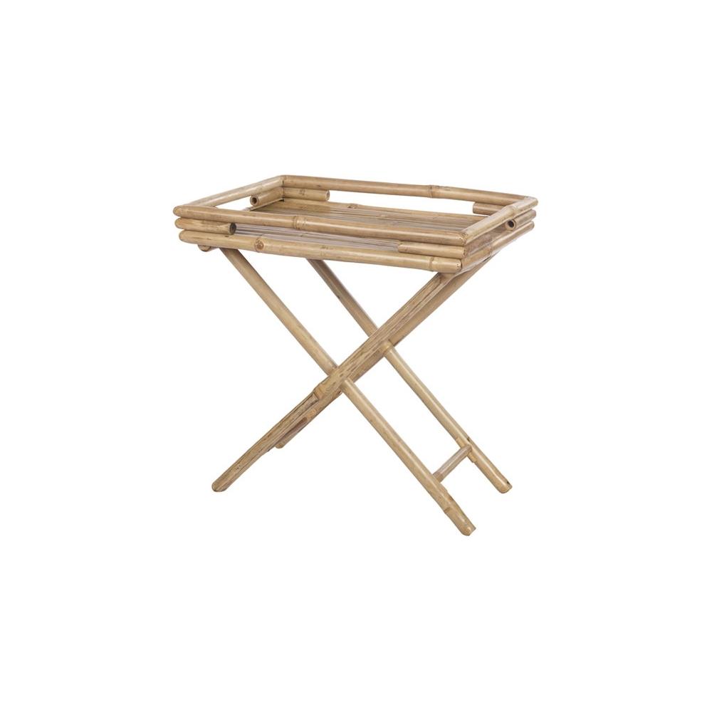 Tavolino in bambu' pieghevole
