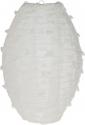 Lanterne ovali in tessuto pois