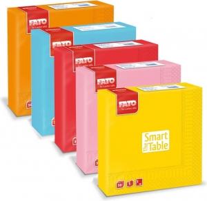 """Tovaglioli in Carta Colorati """"Smart Table"""" 40x40 (50 pezzi)"""
