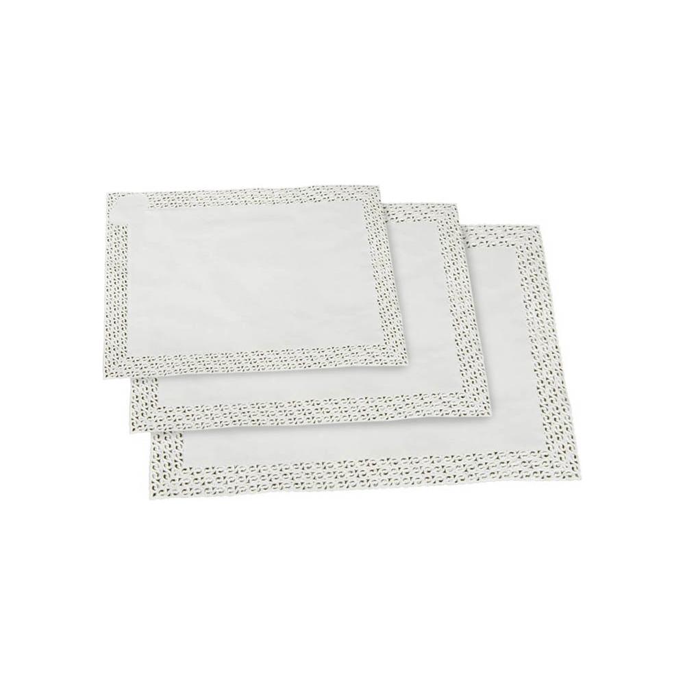 Carte pizzo rettangolari (100 pezzi)
