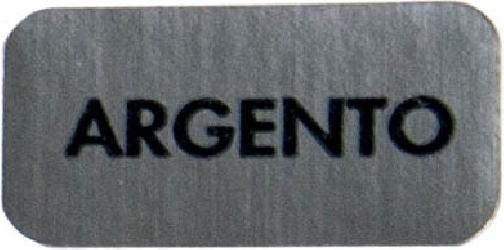 ETICHETTE ARGENTO (300 PEZZI)