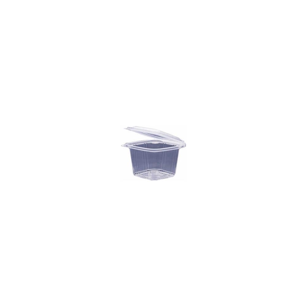 Vaschette in polipropilene con coperchio (8 pezzi)