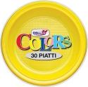 Piatti plastica piani (30 pezzi)