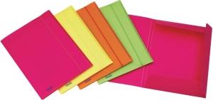 Cartellina neon con elastico