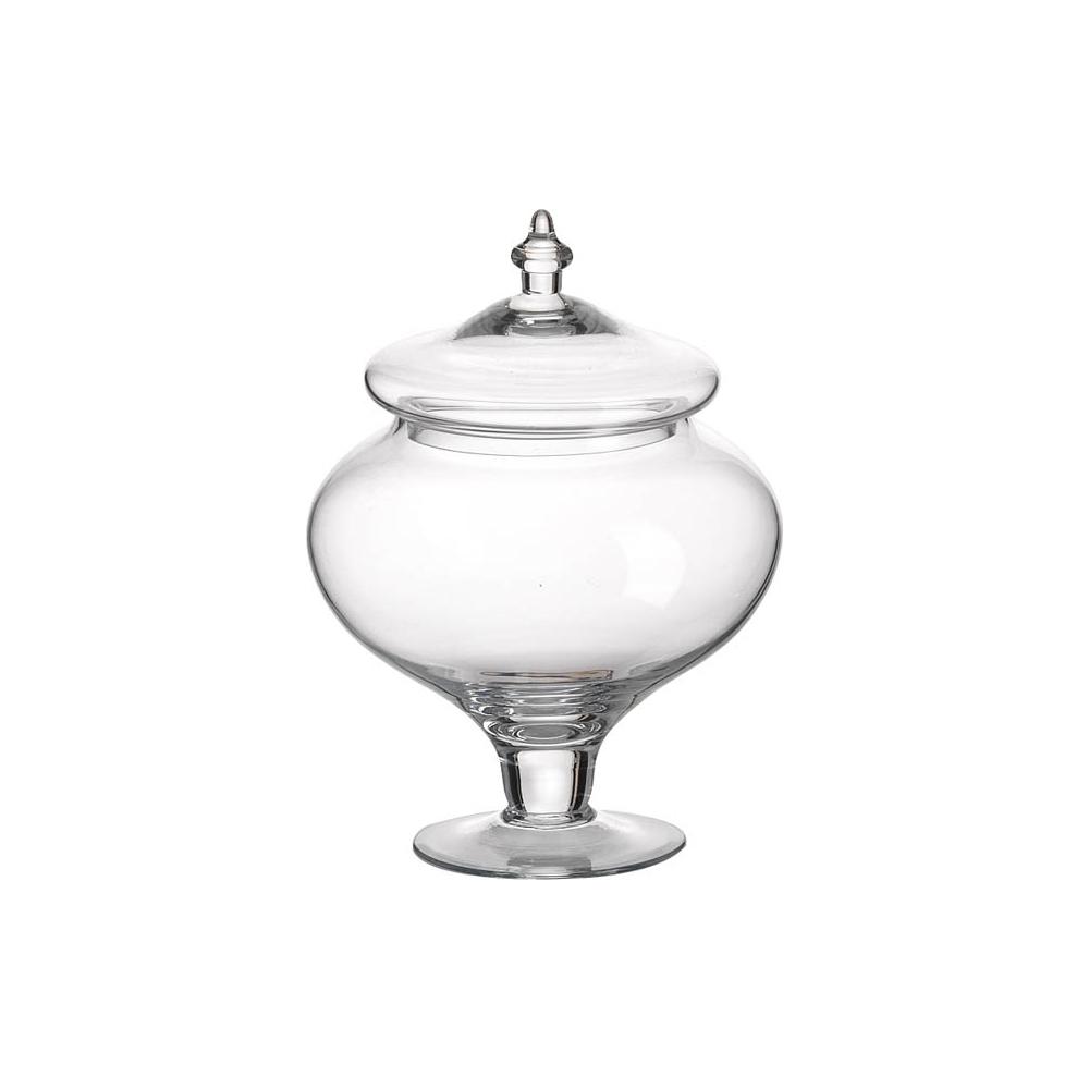Vaso portacaramelle in vetro