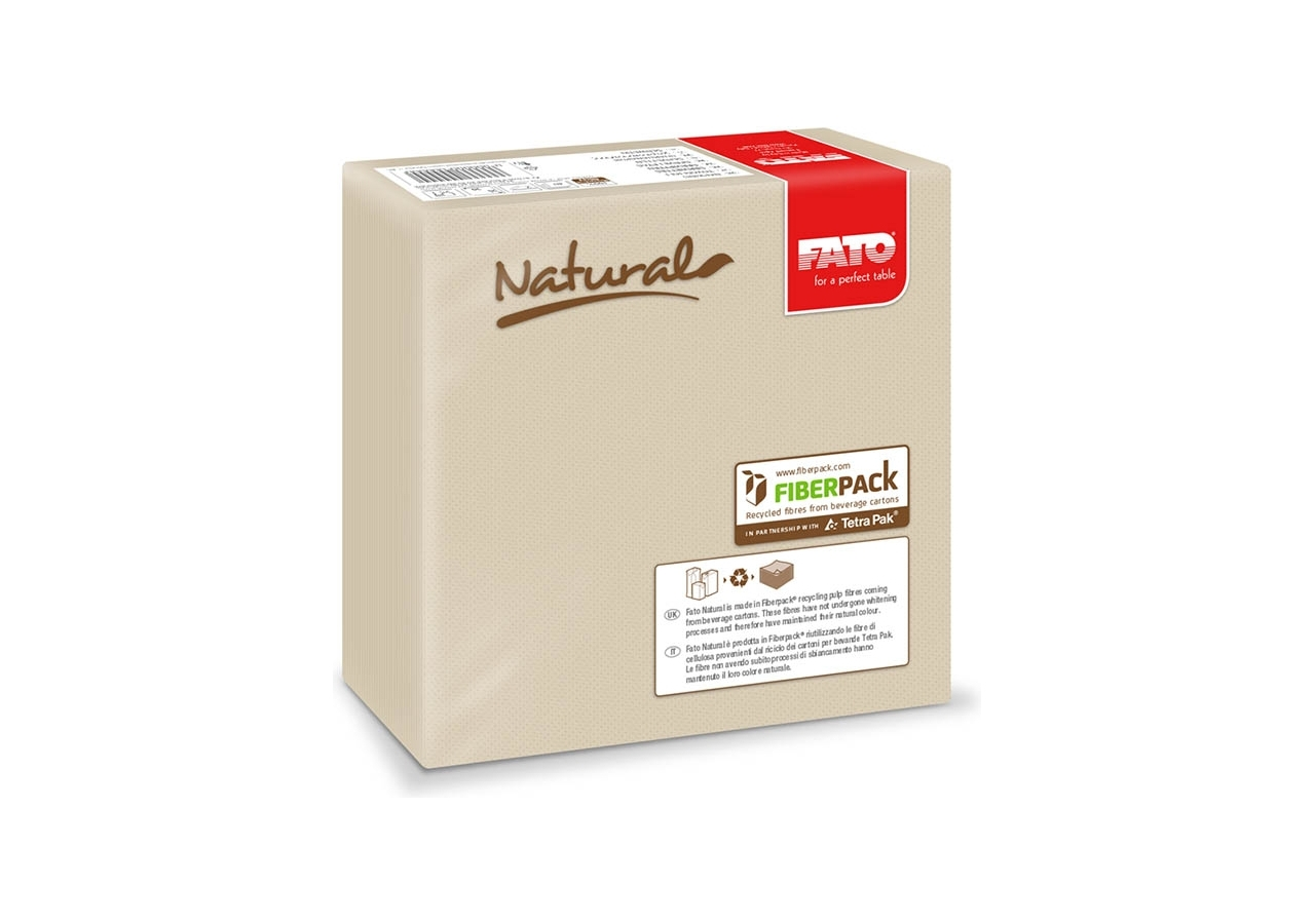 Tovaglioli Star Eco Natural all' Ingrosso (40 pezzi) - Vendita online all'ingrosso b2b