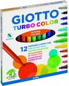 Pennarelli turbo color Giotto confezione da  12 pezzi