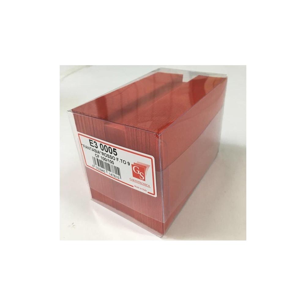 Cartoncini con buste (100 pezzi)