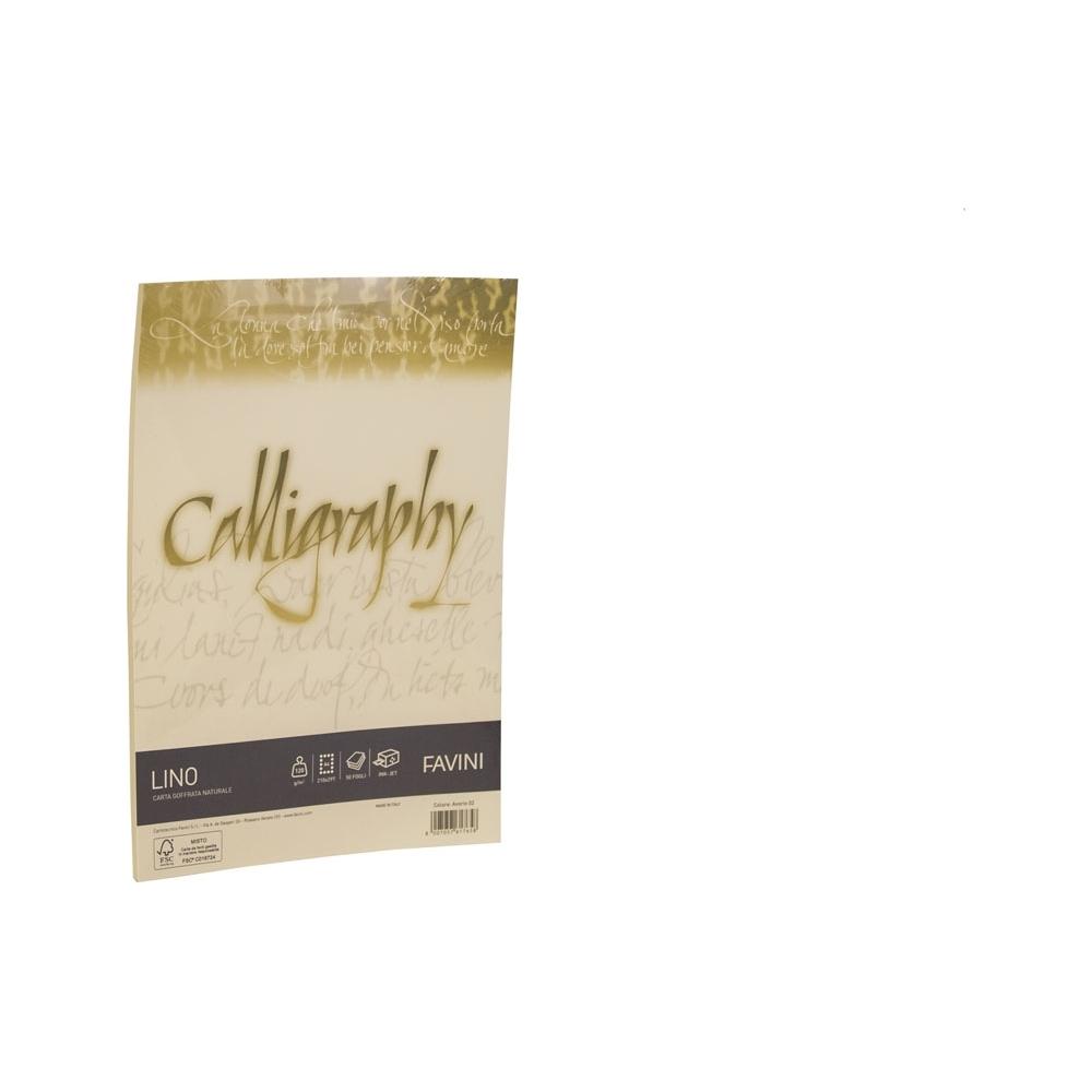 RISMA CALLIGRAPHY LINO - 120GR (50 FOGLI)