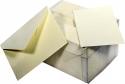 Cartoncini con buste opaline (100 pezzi)