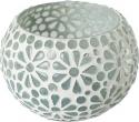 Porta tea light mosaico