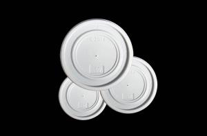 COPERCHI IN PLASTICA PER BICCHIERI TERMICI (100 PEZZI)