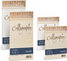 RISMA CALLIGRAPHY CANVAS - 200GR (50 FOGLI)