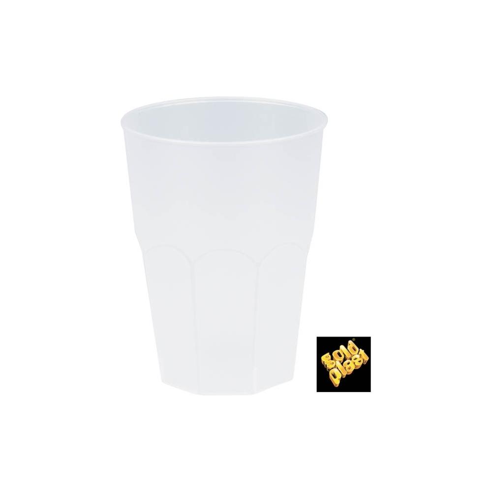 BICCHIERI IN PLASTICA PER COCKTAIL (20 PEZZI)