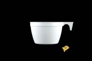 TAZZE IN PLASTICA PER CAFFE' (50 PEZZI)