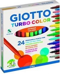 Pennarelli turbo color Giotto in confezione da 24 pezzi
