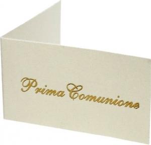 BIGLIETTINI PRIMA COMUNIONE (100 PEZZI)