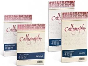 RISMA CALLIGRAPHY MILLERIGHE - 100GR (50 FOGLI)