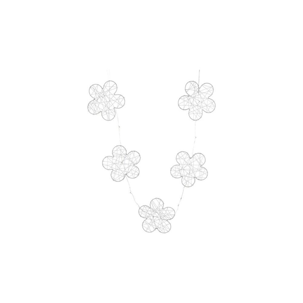 Ghirlanda fiori 15 led