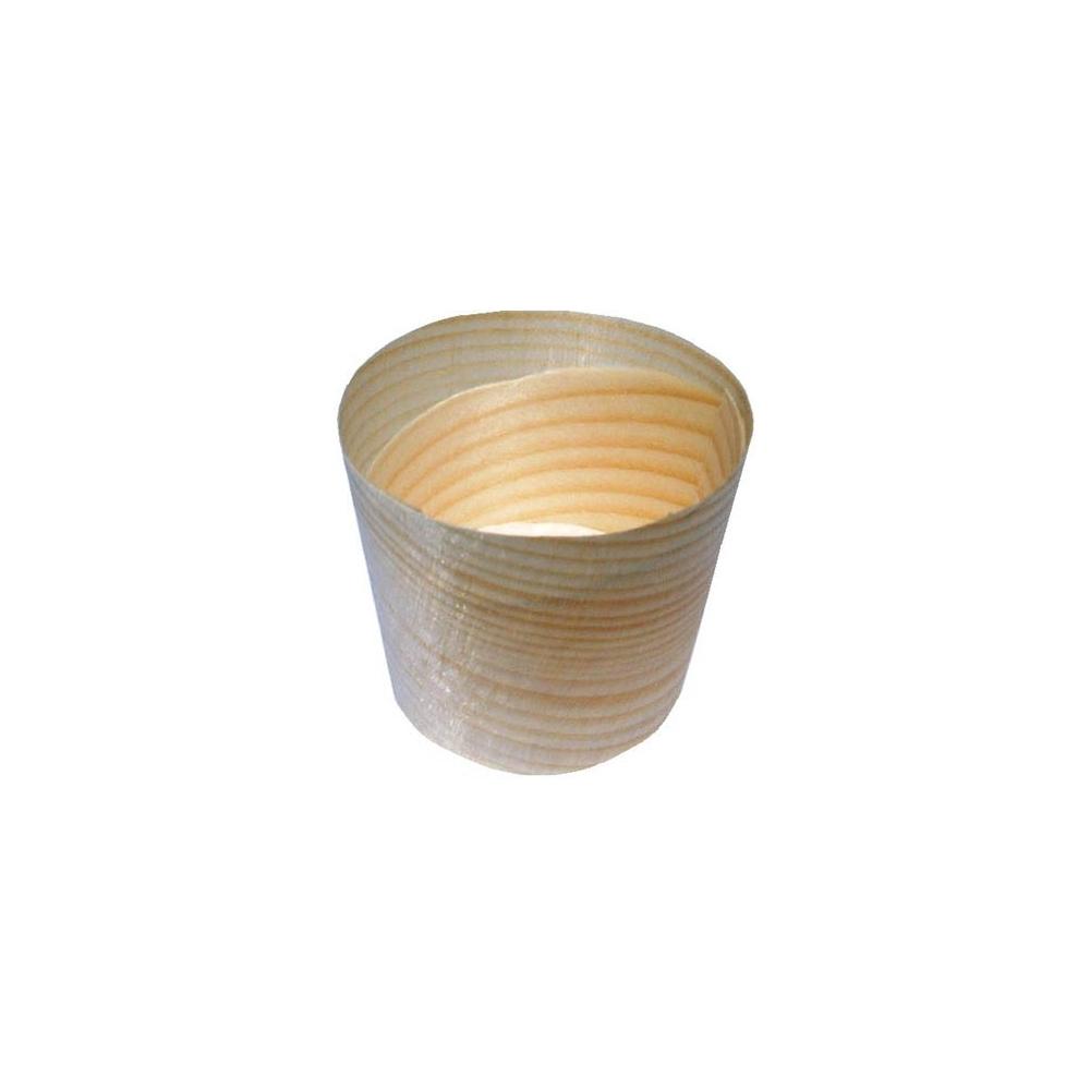 Vaschette in legno (100 pezzi)