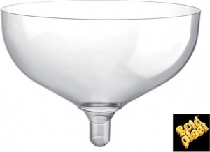 COPPE IN PLASTICA PER CHAMPAGNE (20 PEZZI)
