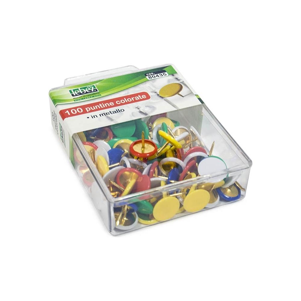 06910d2ae4 Puntine colorate (100 pezzi) - Incartare - Acquista online o presso ...