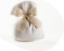 Sacchetto portaconfetti cotone con fondo (12 pezzi)
