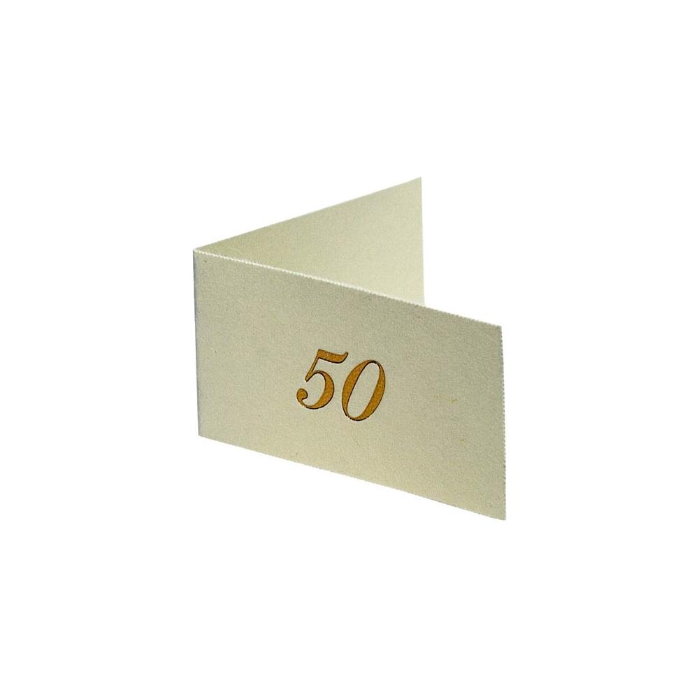 Bigliettini cinquantesimo (100 pezzi)