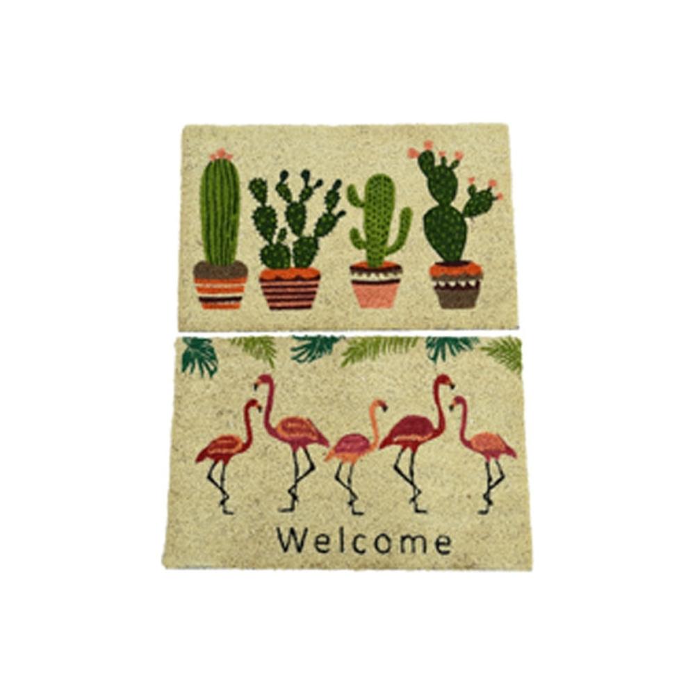 Zerbino cactus/fenicottero