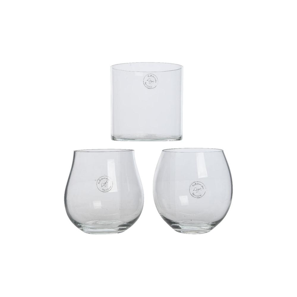Vaso di vetro soffiato